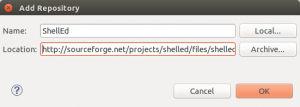 Add ShellEd Repository