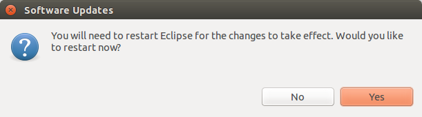 ShellEd Eclipse Restart
